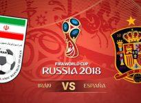 España-Irán.  Mundial Rusia??