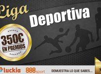 (Concurso) Te damos 100 puntos si entras ya #LigaDeportiva