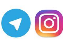 Abrimos perfil en instagram y telegram